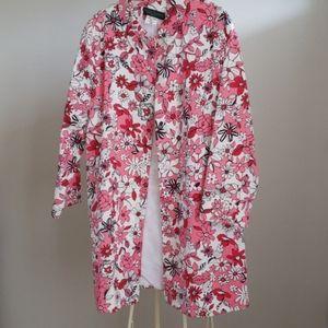 Harvey Bernard Floral raincoat